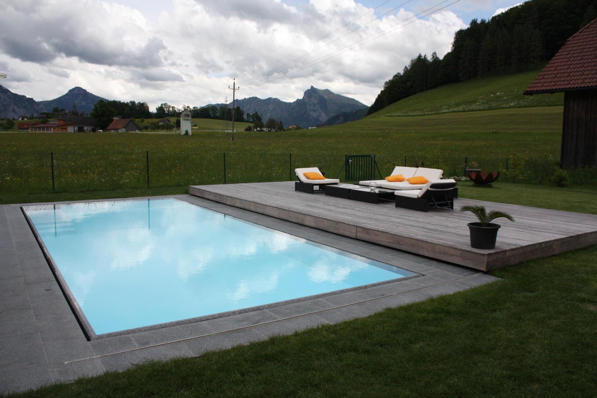 Abdeckung - Schwimmbadbau Tirol - SST Saurwein Schwimmbad Technik