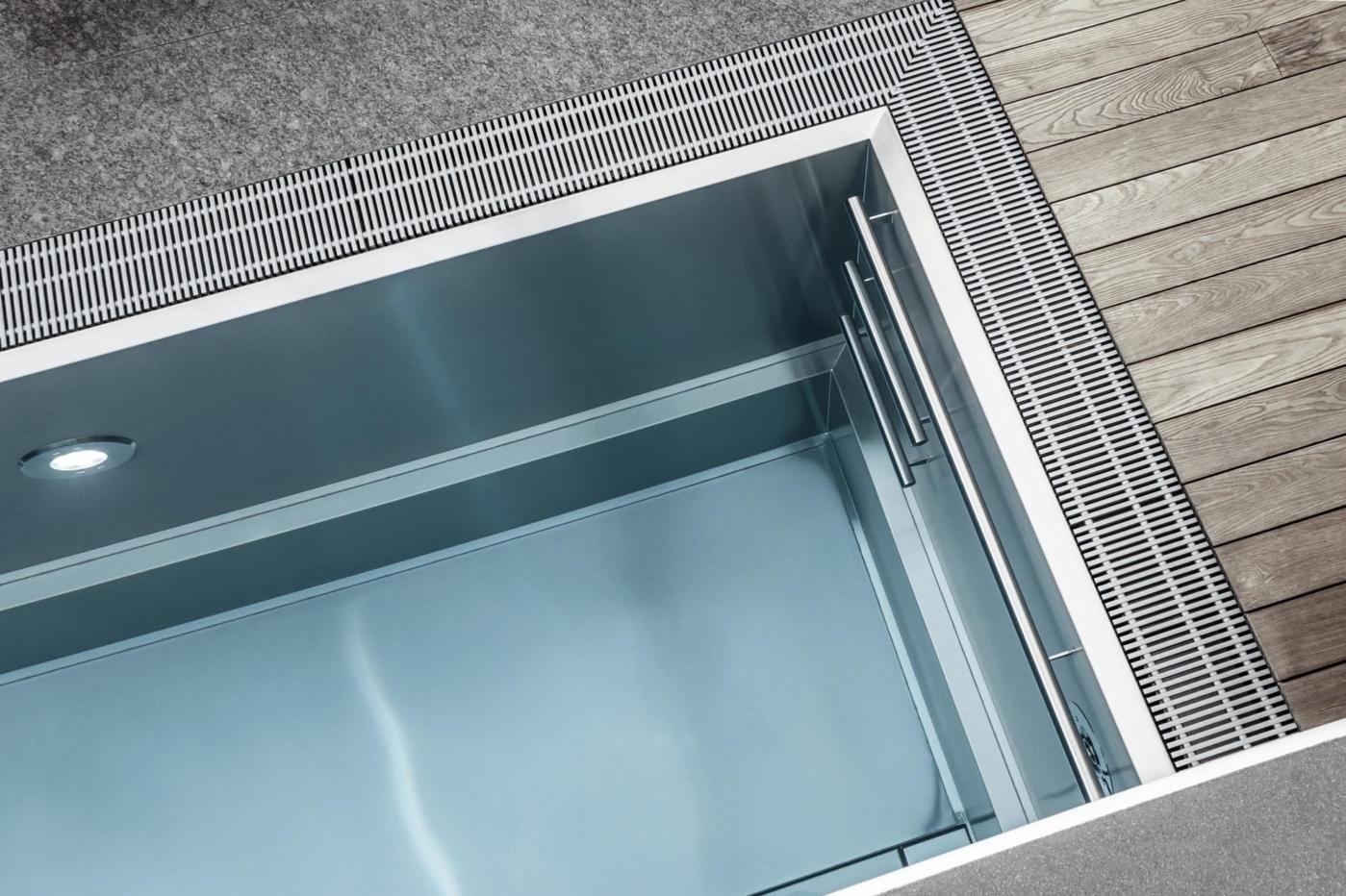Edelstahlpool - Saurwein Schwimmbad Technik