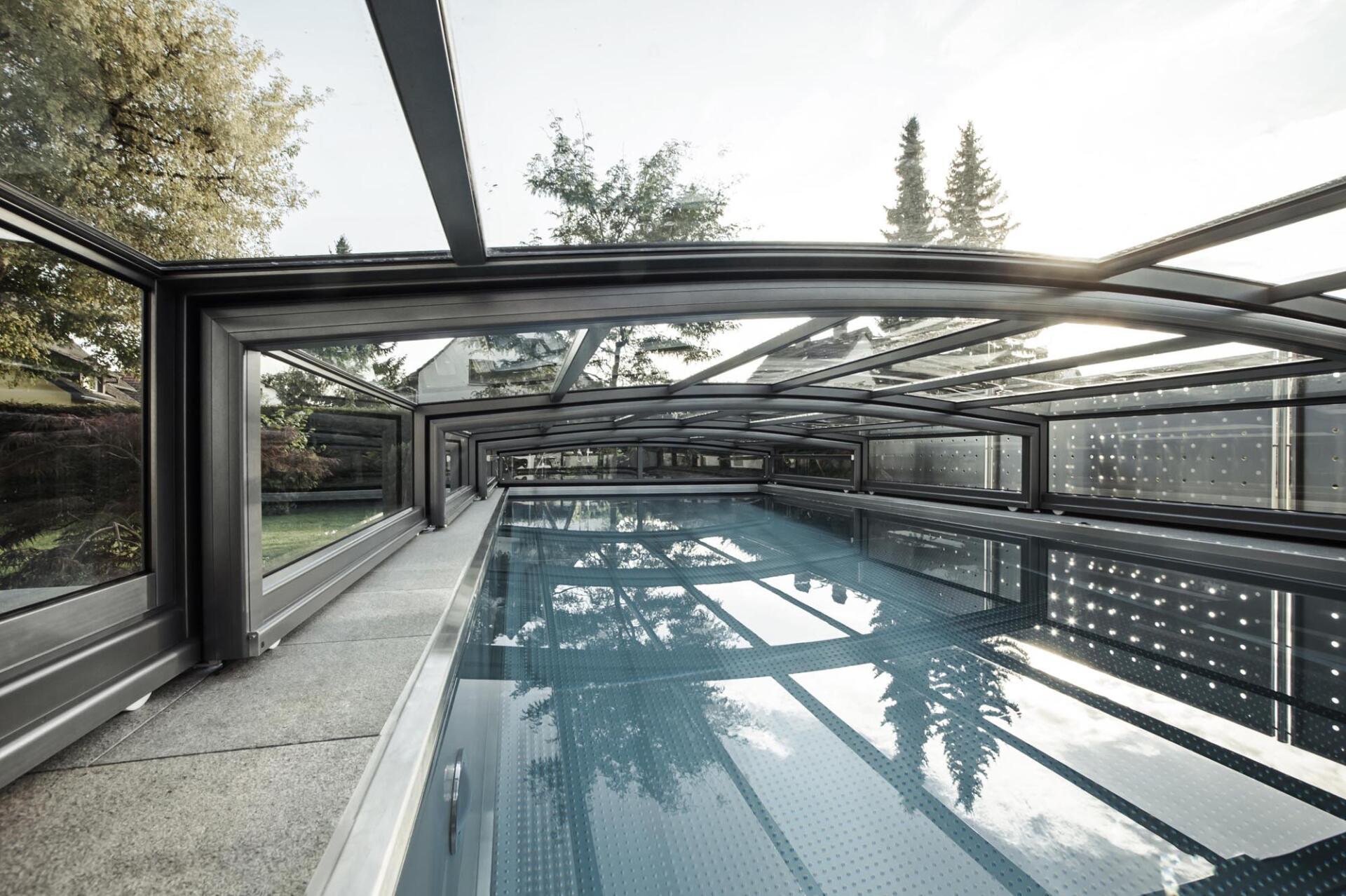 Abdeckung Pool - SST Saurwein Schwimmbad Technik