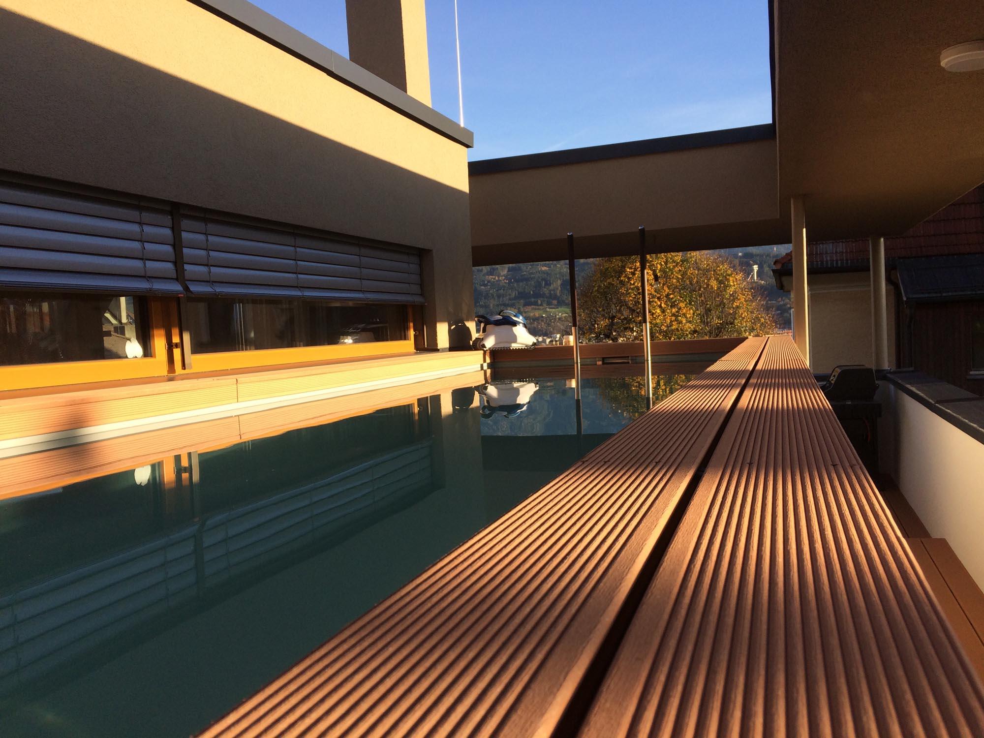 Pool - Schwimmbadbau Tirol - SST Saurwein Schwimmbad Technik