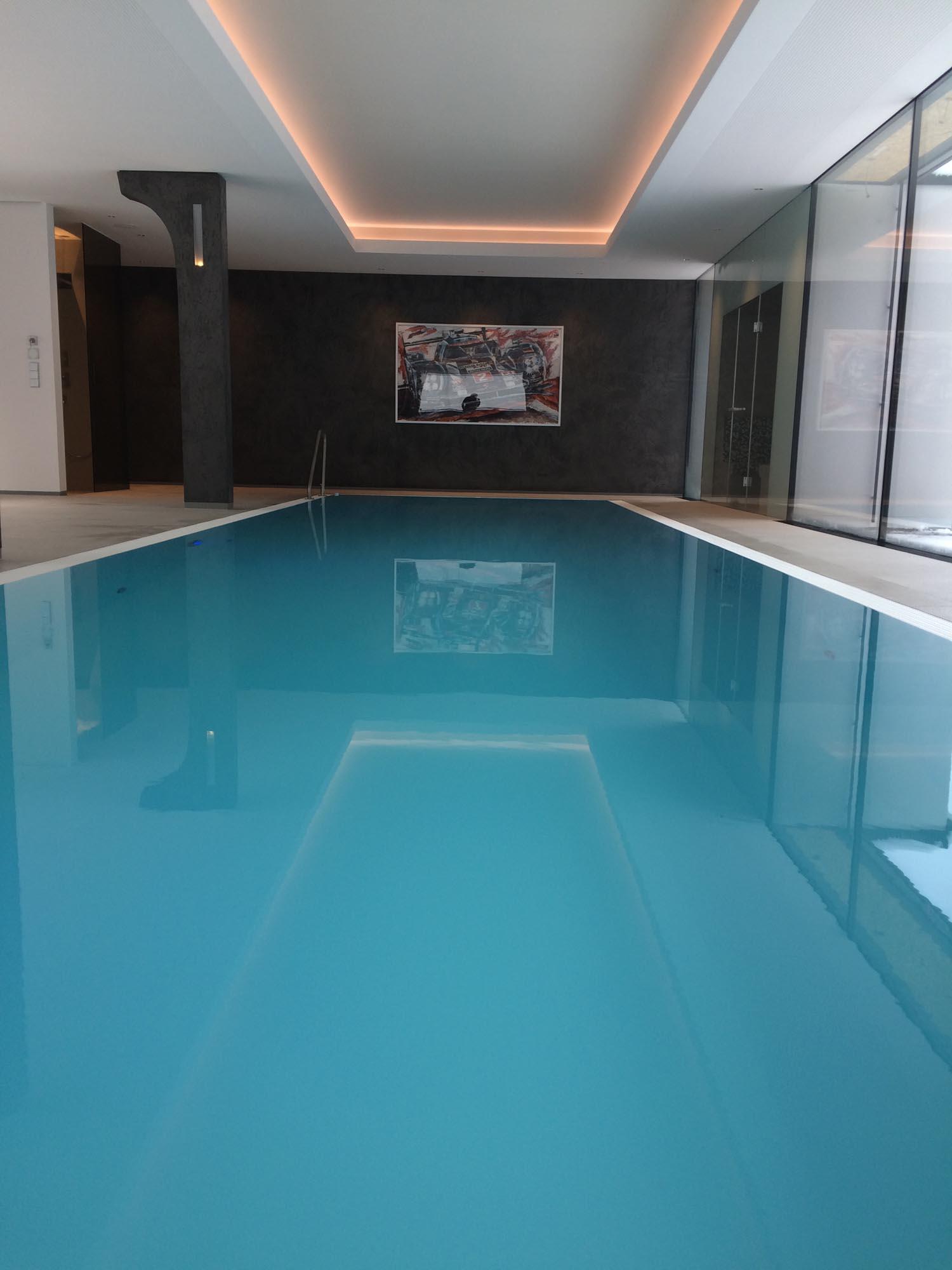 Solebecken - SST Saurwein Schwimmbad Technik