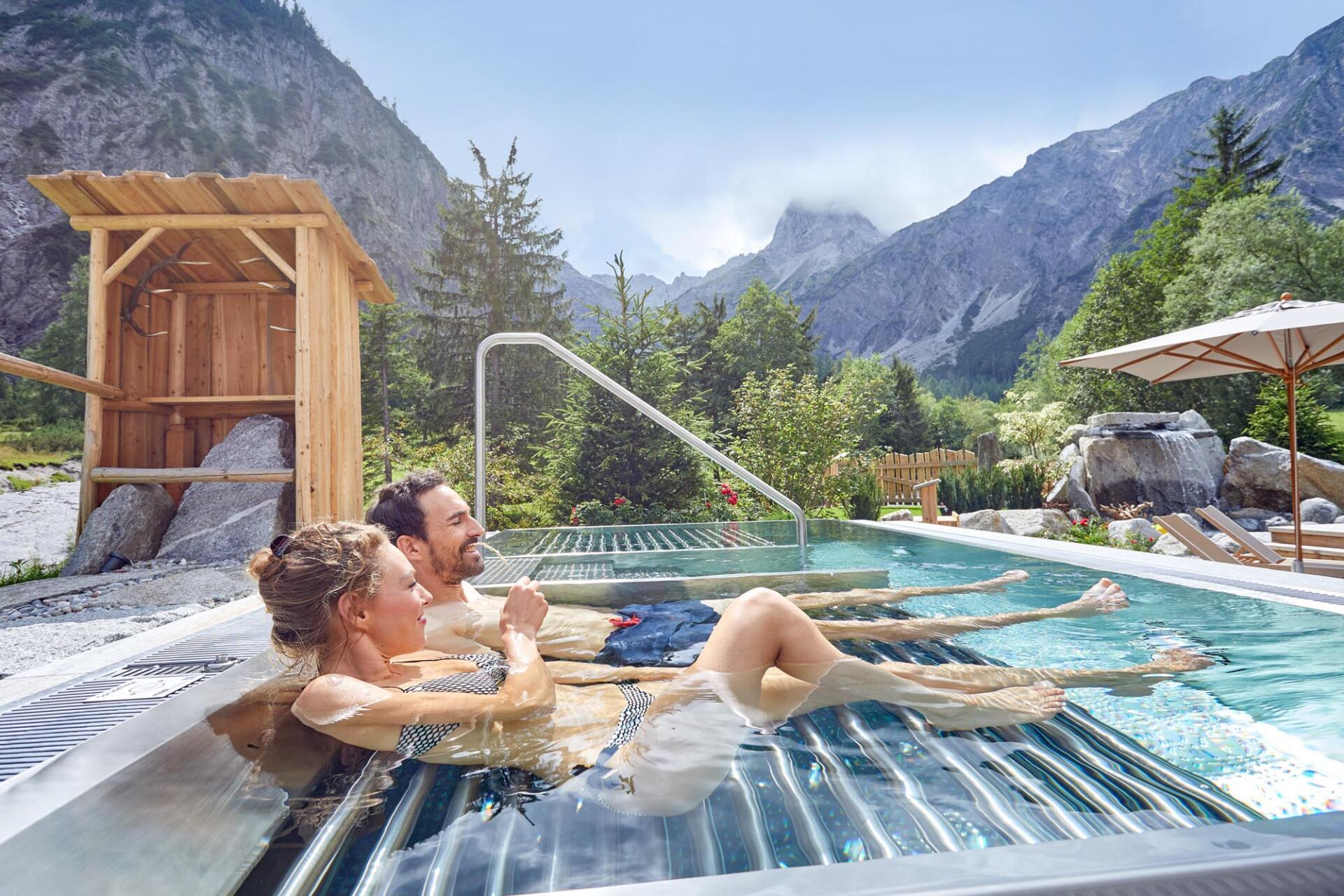 Hotel Gramai Alm - Schwimmbadbau Tirol by SST