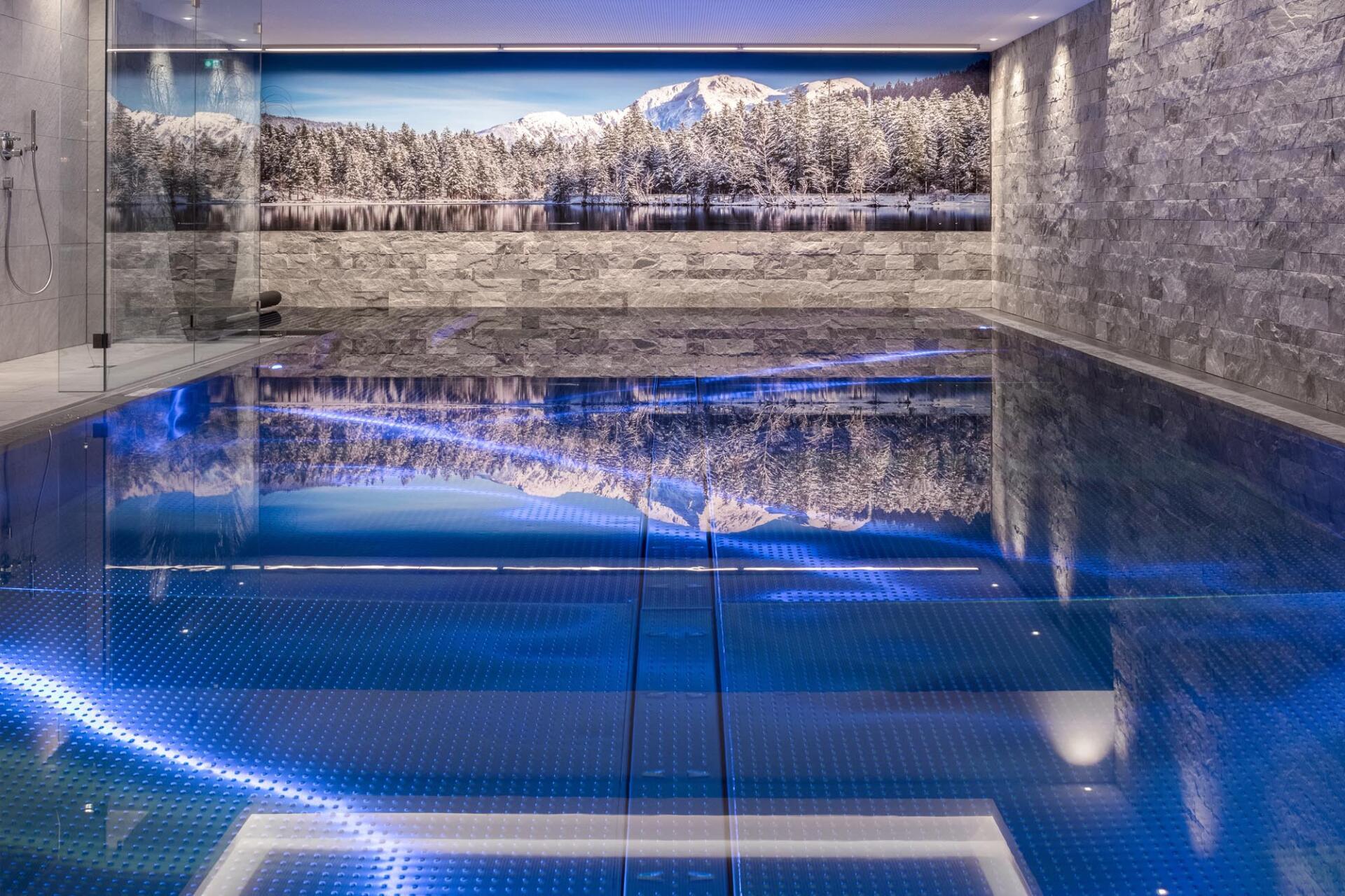 Hotel Rosengarten - Kirchberg in Tirol - Schwimmbadbau Saurwein