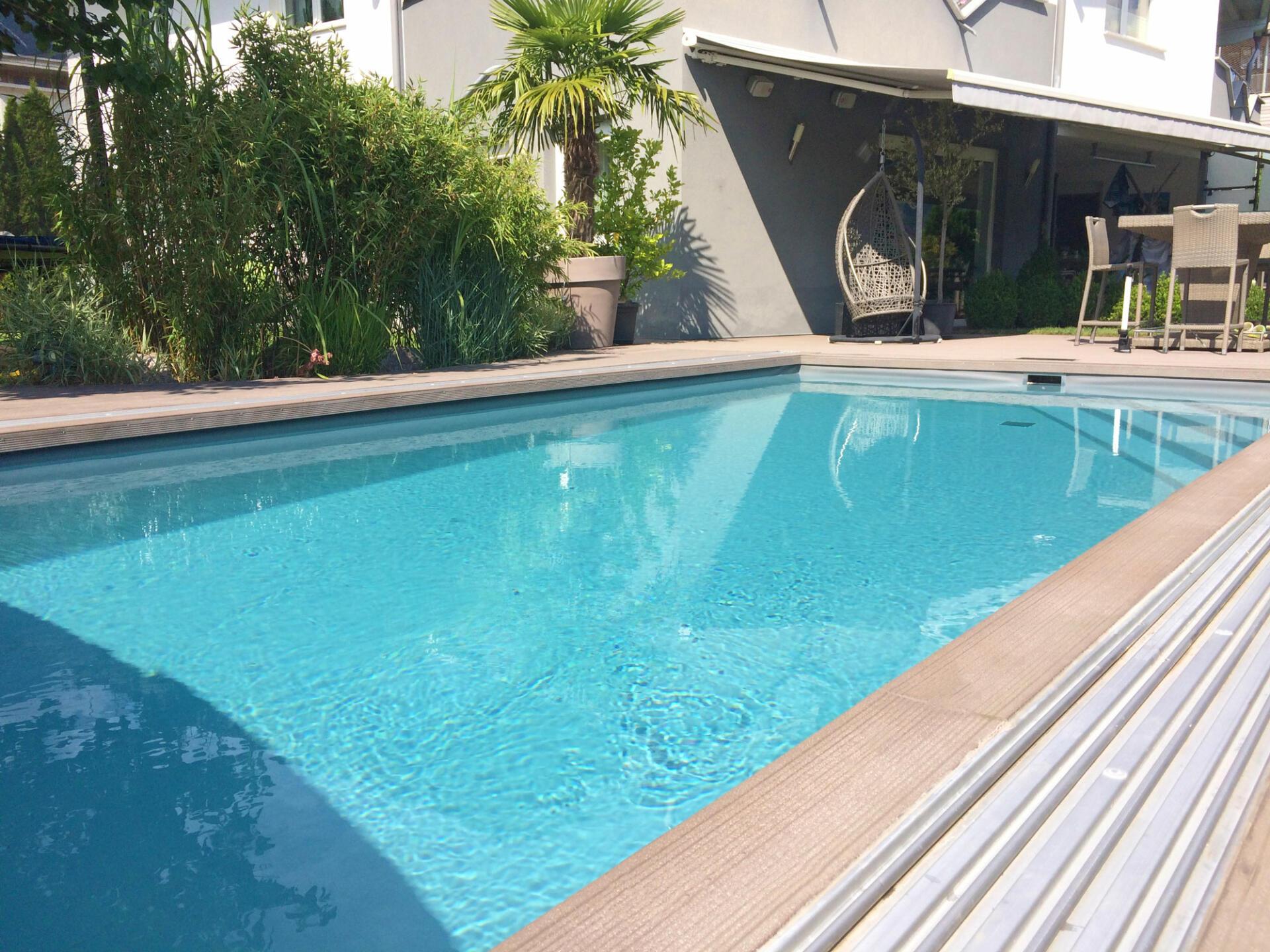 Folienpools - SST Saurwein Schwimmbad Technik