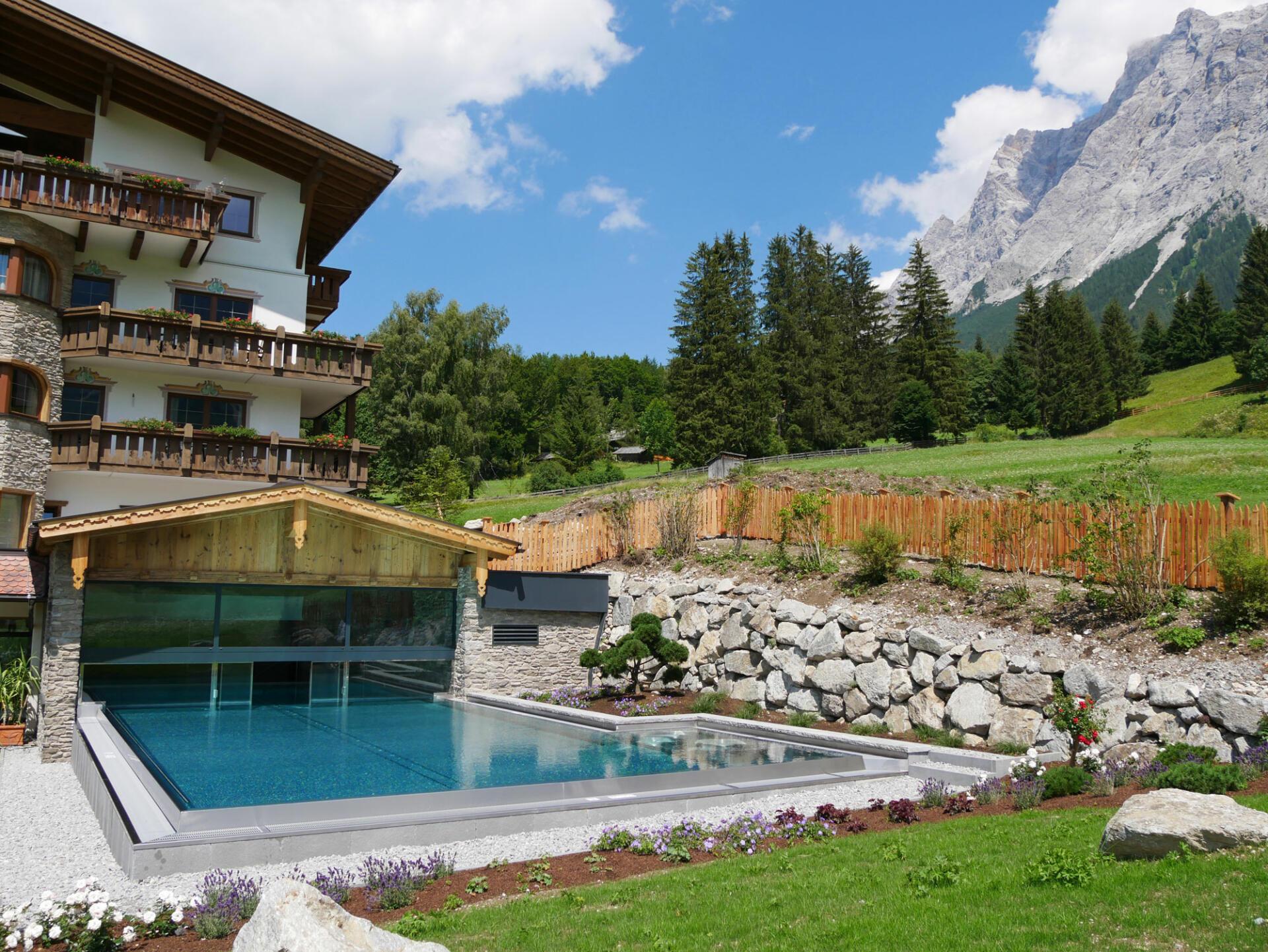 Romantikhotel Spielmann - Pool