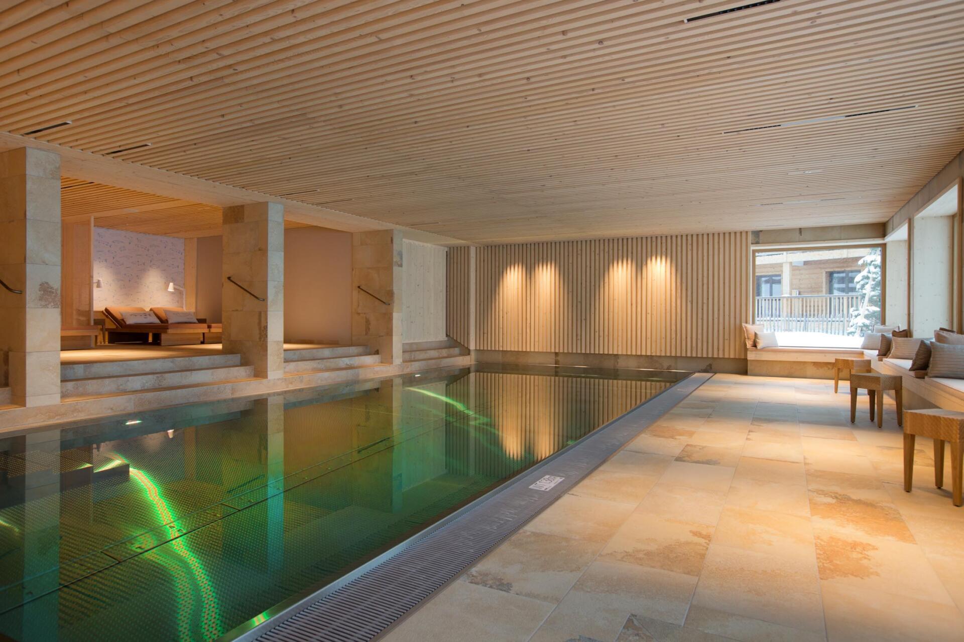 Hotel Sonnenburg - Schwimmbadbau - SST Saurwein Schwimmbad Technik